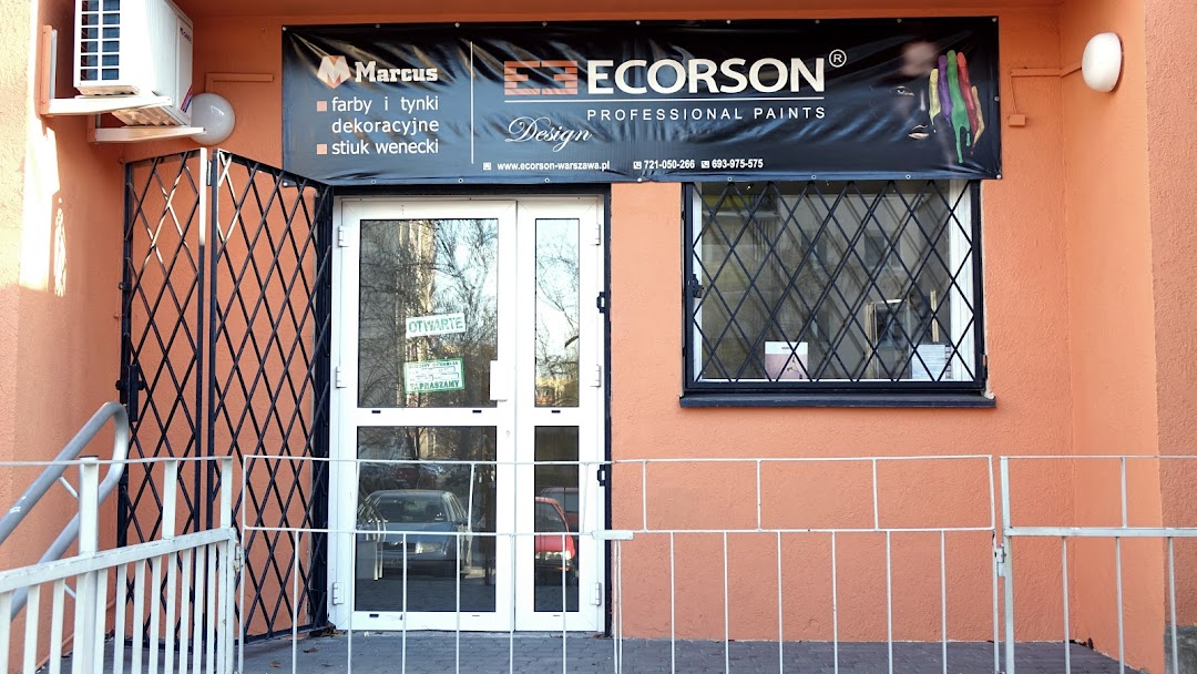 Ecorson Warszawa Fhu Marcus Farby I Tynki Dekoracyjne Beton