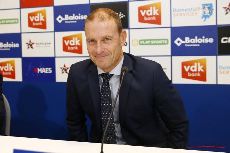 Jess Thorup, le nouveau coach de La Gantoise, a fait ses débuts à Lokeren