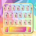 Color Geometric Keyboard Theme icon