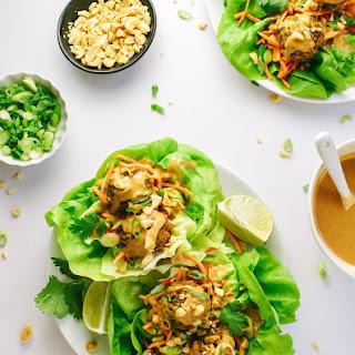 THAI QUINOA MEATBALLS (LETTUCE WRAPS) Recipe