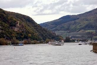 Photo: We start our cruise of the Rhine Gorge - one of the most beautiful spots in the world