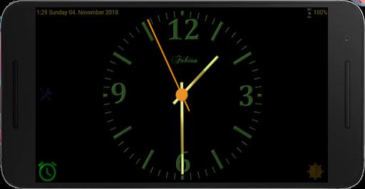 PC u7528 Nice Night Clock with Alarm and Light - no Ads 2