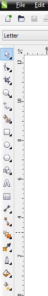 Tools yang digunakan di Corel Draw