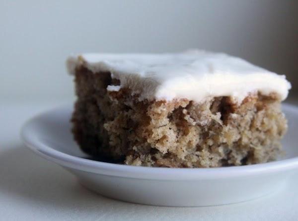 Fluffy Banana Cake Recipe