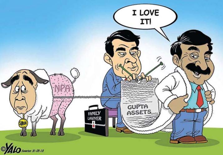 Justice For Thoriso: Yalo Cartoon (28 May