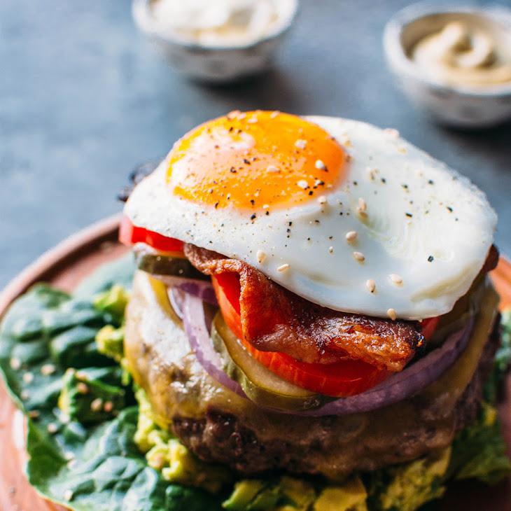 The Ultimate Bunless Burger {Paleo Friendly + Gluten Free} Recipe