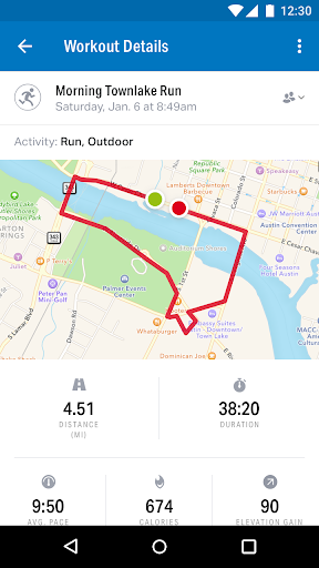 Run with Map My Run + v17.2.0