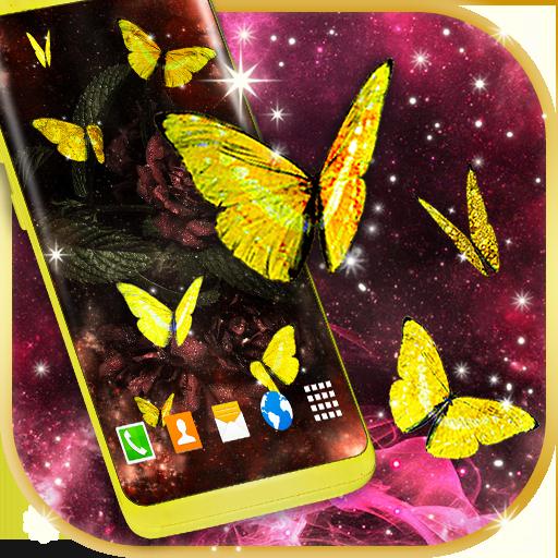 Gold Live Butterflies