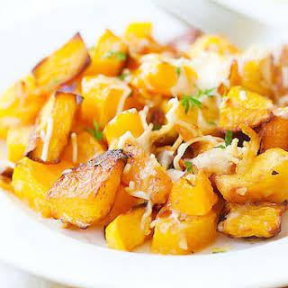 Garlic Parmesan Roasted Butternut Squash.