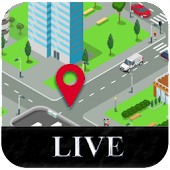 Street Live View & GPS Satellite Map Navigation