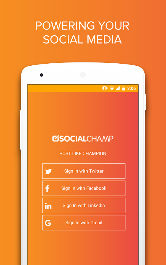 Social Champ- screenshot