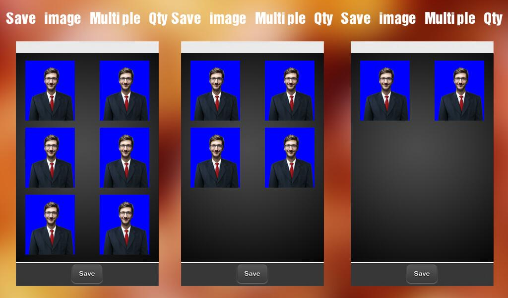 Passport Size Photo Maker- screenshot