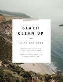 Beach Clean Up - Poster item