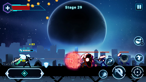 Stickman Ghost 2: Galaxy Wars 5.7 screenshots 6