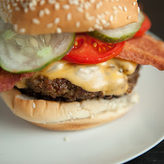Turkey Peanut Butter Bacon Burger