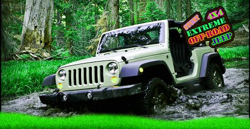 4x4 Extreme Off-Road Jeep Stunts  screenshots 4