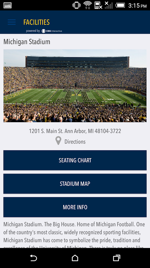 MGoBlue2Go Gameday LIVE - screenshot