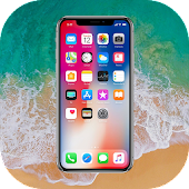 Phone X Launcher & Phone 8 Launcher & Lock Screen icon