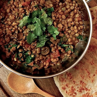 Easy Vegan Coconut Curry Lentils