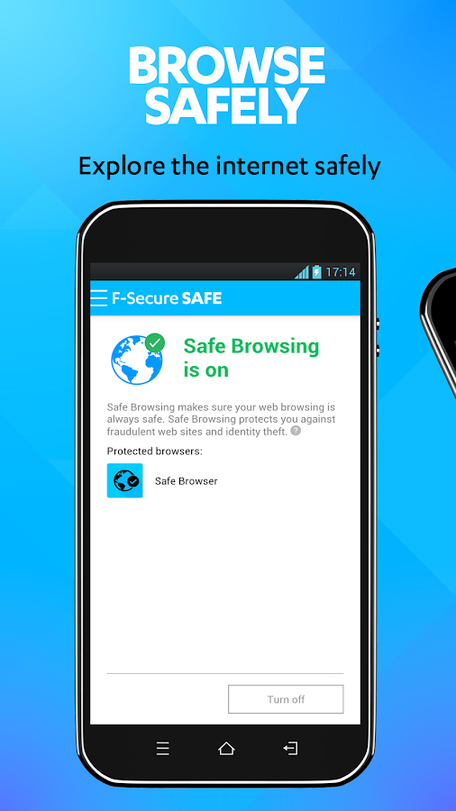 F-Secure SAFE- screenshot