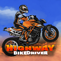 Highway Bike Driver 3D Game icon