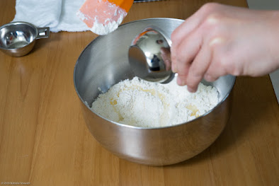 黒千石レシピ:黒千石チョコスコーン・作り方