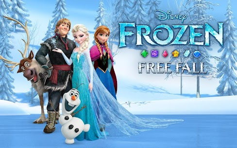 Disney Frozen Free Fall – Play Frozen Puzzle Games Mod 8.7.0 Apk [Unlocked] 5