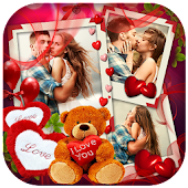 Romantic Love Photo Collage