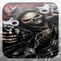 Grim Reaper Fire Guns LWP icon