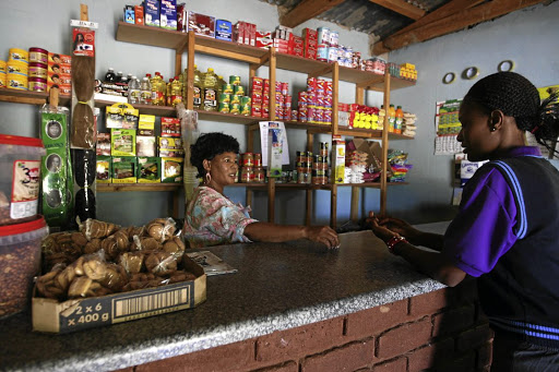 Spaza shop owners are finding it increasingly difficult to compete with large companies and foreign retailers as they do not have collective purchasing power. Picture: SUNDAY TIMES