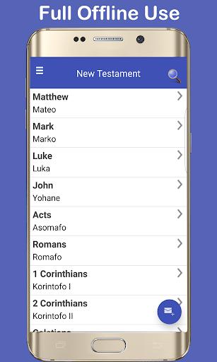Screenshot for Twi Bible Pro + English in Hong Kong Play Store