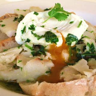 Alentejo Bread Codfish Soup.