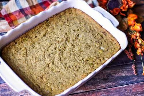 """Cornbread Dressing""""This is an easy cornbread dressing recipe and it is very..."""