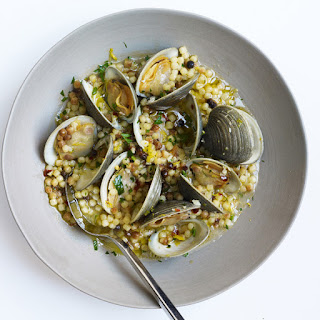 Fregola with Clams.