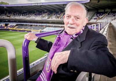 Anderlecht verliest zijn oudste supporter: RIP Remi