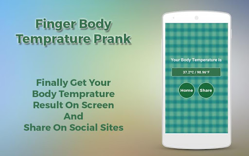 Finger Body Temprature Prank 1.0 screenshots 7