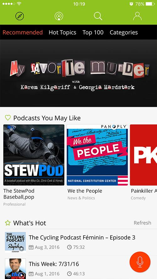 Podbean Podcast App, Podcast Player- screenshot