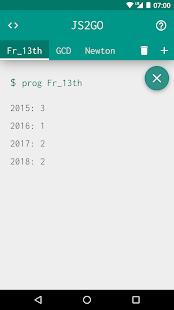 JavaScript 2 Go - náhled
