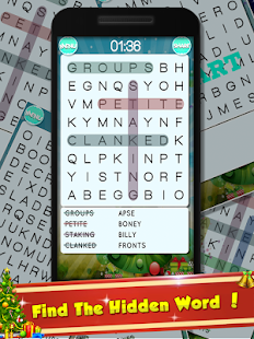 New Year Word Puzzle:Word Brain Puzzle