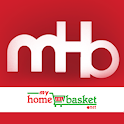 Myhomebasket - online grocery icon