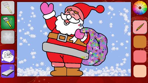 Christmas coloring kids lite