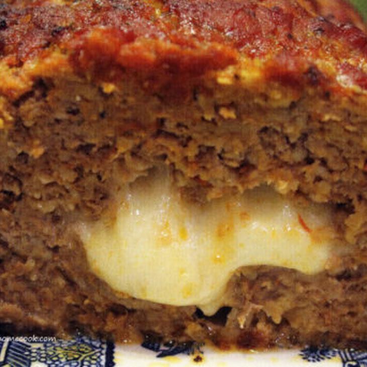 Stuffed Italian Meatloaf