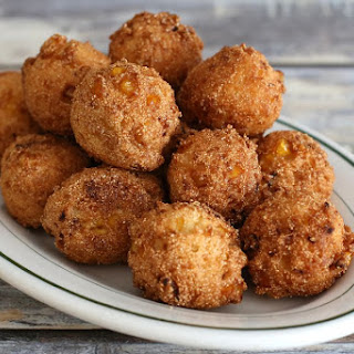 Easy Hush Puppies With Cream-Style Corn.