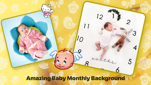 Baby Photo Editor:Precious Baby Milestone Pictures screenshot 1