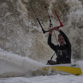 Kitesurf by Howard Kearley - Sports & Fitness Watersports ( kite, play, wave, power, surf )