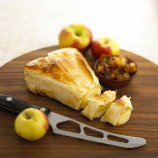 Alouette Baby Brie Wedge in Phyllo.