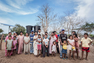 Photo: La comunidad de Jawapiakat - Uribia