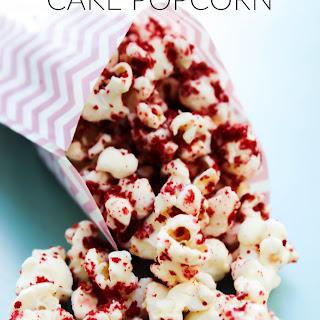Red Velvet Cake Popcorn