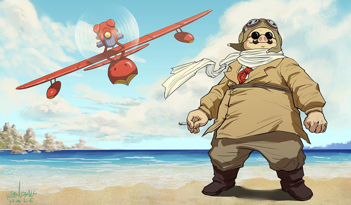 Porco Rosso-air pirate