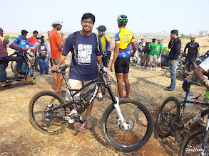 Photo: RT with his AWESOME Jamis DH bike!